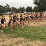 Varsity Girls Cross Country Win Western League Title