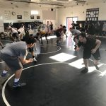 Wrestling Tryouts Started Today At The Ranch