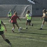 Girls Soccer Tryouts 2017-18 Day 3