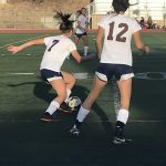 Varsity Girls Soccer Top Bishops At Home