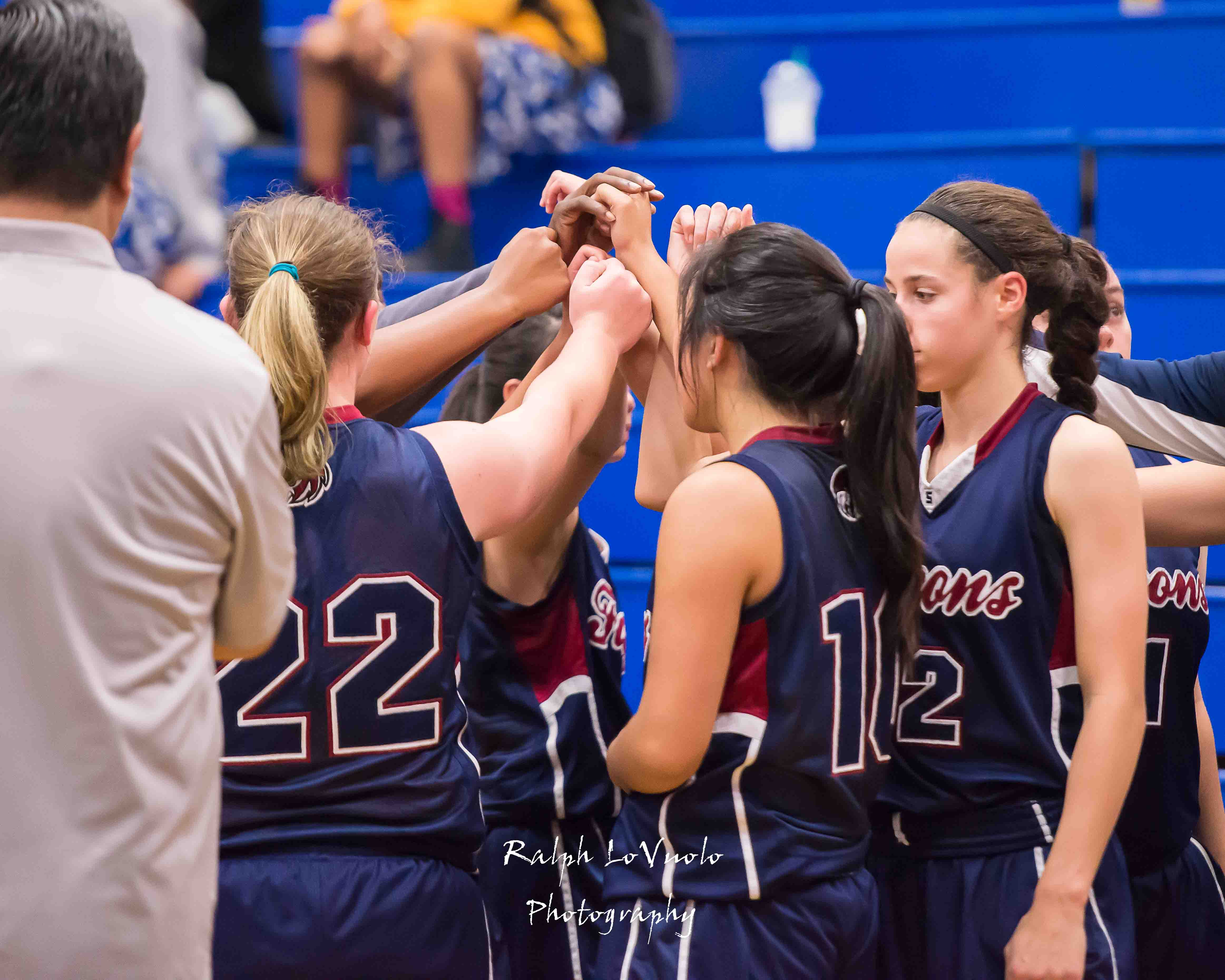Varsity Girls Basketball Beat San Diego On The Road