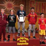 Falcon Freshman Wrestler Takes First At Freshman Country Championships