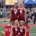 Girls Track & Field Place Third At Redondo Beach Invitational