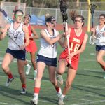 JV Girls Lacrosse Beat Cathedral Catholic At Home