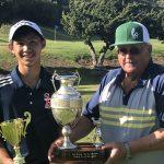 Freshman Golfer Ian Maspat Wins City Conference Match Play Championships