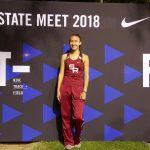 Julia Morales - Track / Field State Championships 2018
