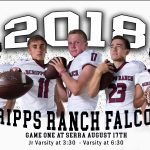SRHS Football Opening Day @ Serra Tonight