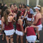 Girls Varsity Tennis Beats Patrick Henry To Start Season