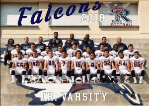 JV Football Team Picture 2018