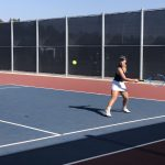 JV Girls Tennis Beats Cathedral Catholic