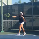 Girls JV Tennis Falls To Coronado