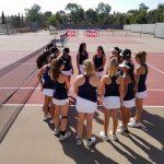 Girls Varsity Tennis Beats La Jolla