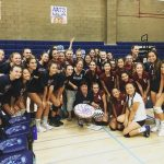 Girls Volleyball Celebrate Coach Moyers Birthday With A Win Over University City