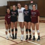 Varsity Girls Volleyball Beat Point Loma On The Road