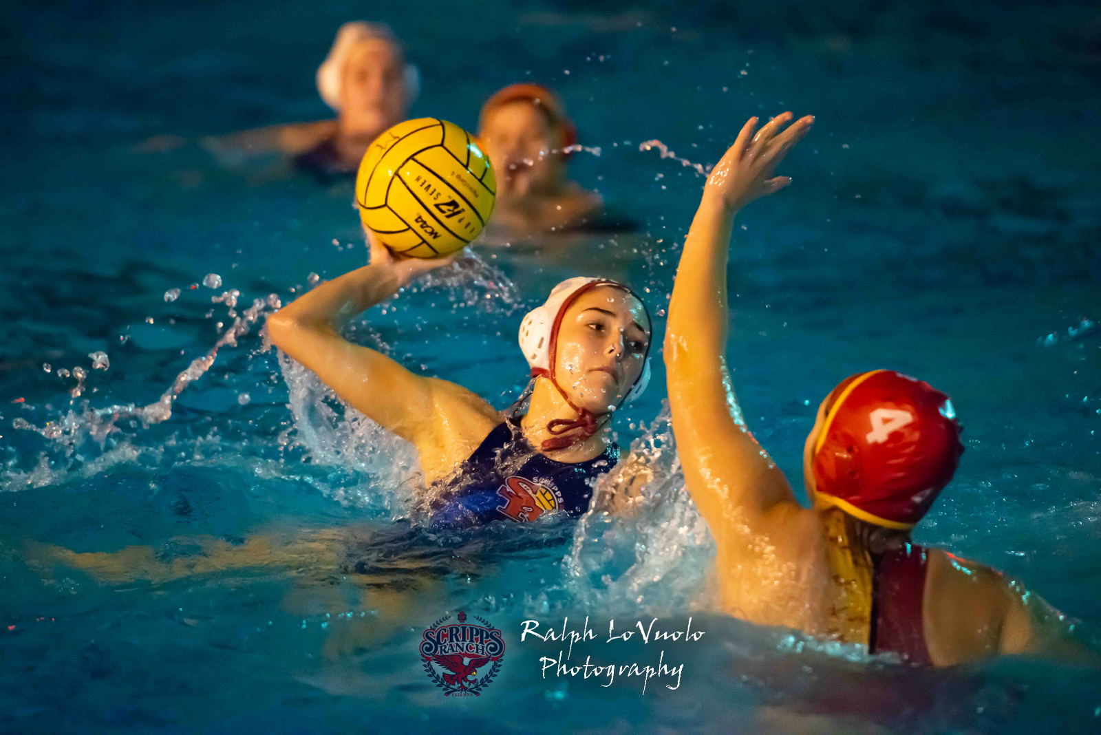 Varsity Girls Water Polo Beat Mt Carmel
