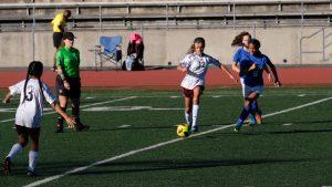 Girls JV2 Soccer @ San Diego