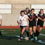 Girls JV1 Soccer Tie La Jolla
