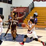 Girls JV Basketball Beats Serra In Overtime