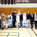 Girls Basketball Celebrates Senior Night vs. Serra