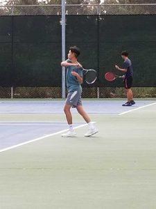 JV Boys Tennis @ St. Augustine