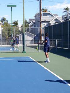 Boys Varsity Tennis @ Coronado