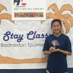 Senior Jolina Bui Wins Stay Classy Singles Consolation Bracket
