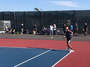 JV Boys Tennis vs. Point Loma