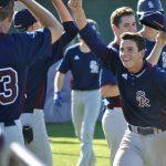 Varsity Baseball @ Saints Photos