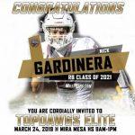 Congratulations Nick Gardinera
