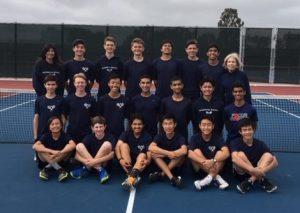 Boys JV Tennis vs. Point Loma