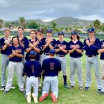 JV Baseball Beats Santana