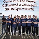 Boys Volleyball vs. Bishops – CIF Playoffs Tonight