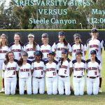 Varsity Softball vs. Steele Canyon Tomorrow @ Noon
