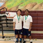 Gupta & Nguyen Take Fourth @ Badminton CIF Doubles