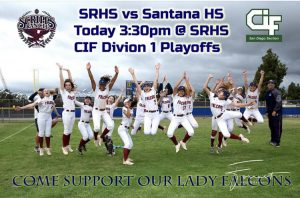 Softball vs. Santana – CIF D1 Round 1