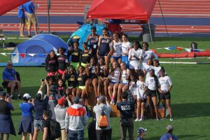 Girls Track – 4×100 Relay State Champions