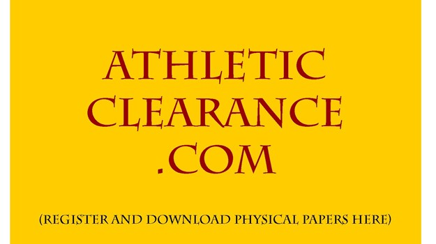 Athletic Clearance For Fall Sports As Of 7-15-2019 – Check Clearance List To See If You Are Cleared