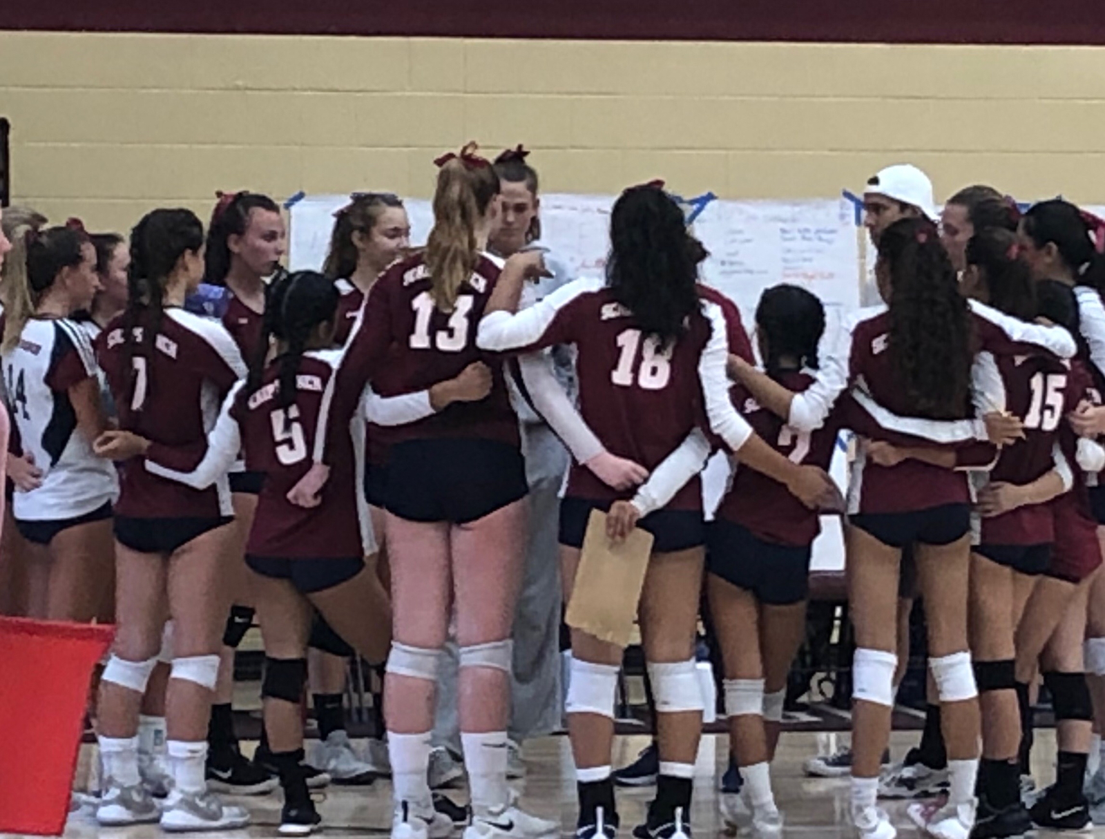 Varsity Girls Volleyball Falls To Bishops On The Road