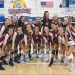 Varsity Girls Volleyball Beat Ramona On The Road