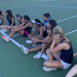 Varsity Girls Tennis Beats Poway