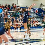 Varsity Girls Volleyball Falls To Del Norte In Epic Match