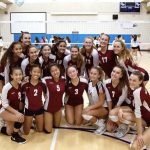 Varsity Girls Volleyball Beats Our Lady Of Peace In 3