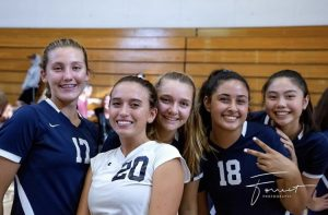 Girls Varsity Volleyball Faces