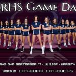 Girls Volleyball vs. Cathedral Today 3:30/5:00