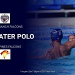 Boys Water Polo Tonight @ Torrey Pines 6:00/7:00pm