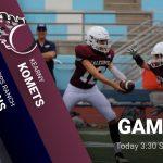 Freshman Football vs. Kearny Today @ 3:30