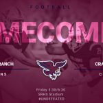 Homecoming Football vs. Crawford Tonight @ 3:30/6:30