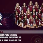 Girls Volleyball @ Cathedral Catholic Tomorrow 3:30/4:45