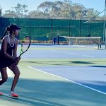 Girls Varsity Tennis Beats Our Lady Of Peace By Game Count