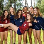 Freshman & JV Girls Volleyball Having Fun